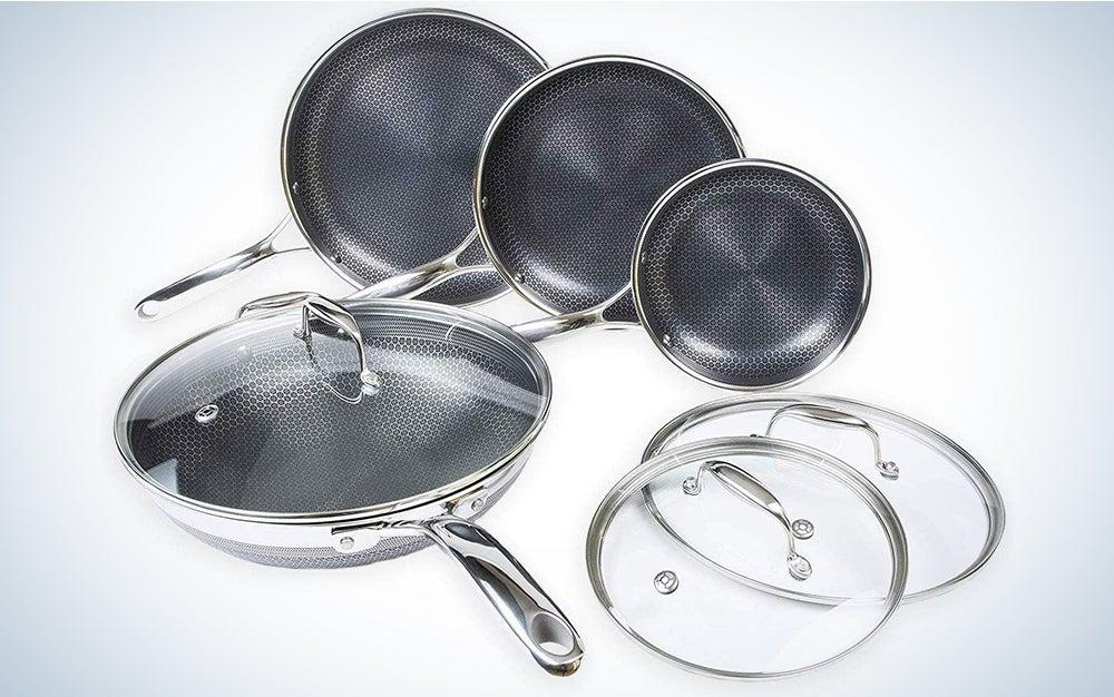 HexClad 7-Piece Cookware Combo