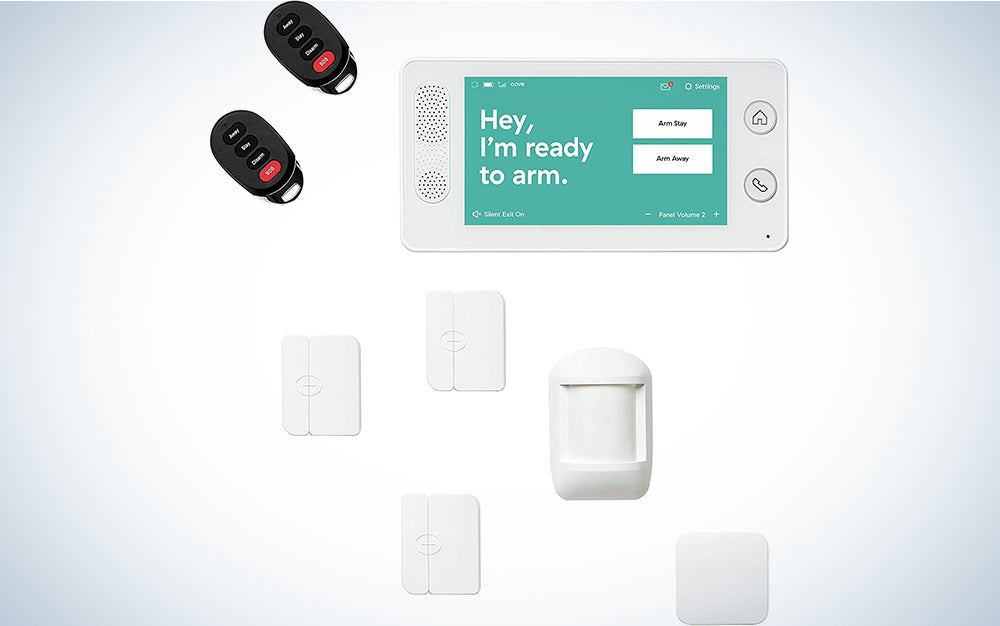 Cove 8 Piece Wireless Security System
