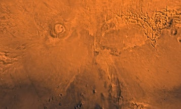 Mud volcanoes on Mars hint at ancient water reservoirs