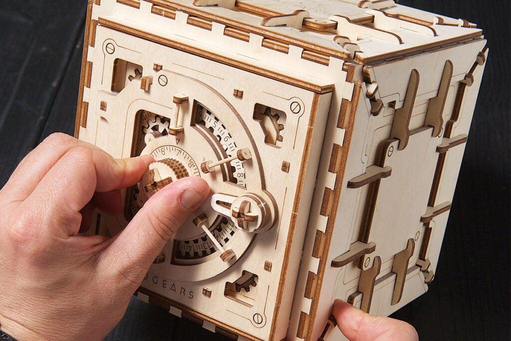 3D Wooden Mechanical Model Kit
