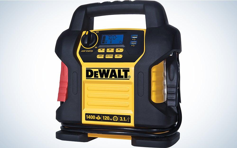 DeWALT DXAEJ14 Digital Portable Power Station Jump Starter
