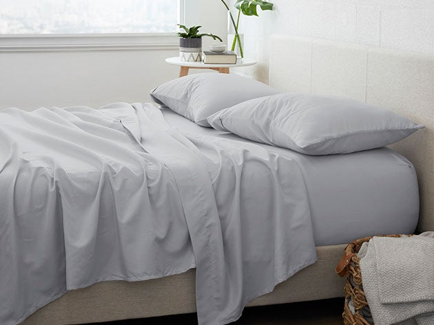 Home Collection Premium Ultra-Soft 4-Piece Bed Sheet Set