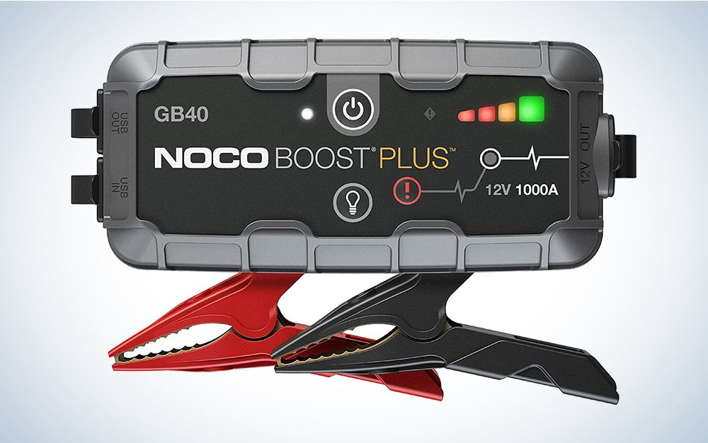 NOCO Boost Plus GB40 12-Volt Car Battery Jump Starter
