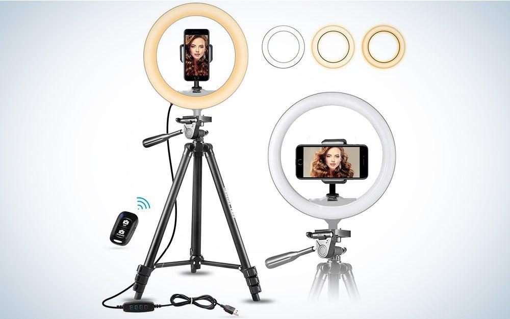 10-Inch Selfie Ring Light
