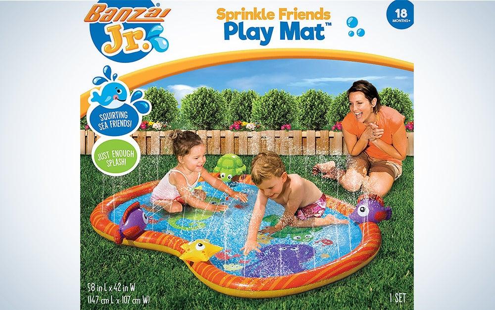 Banzai Sprinkle & Splash Play Mat
