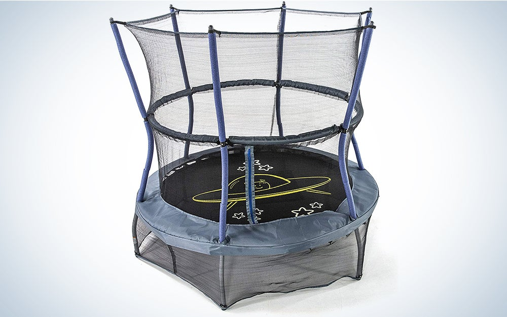 Skywalker mini trampoline with net enclosure (Space Theme)