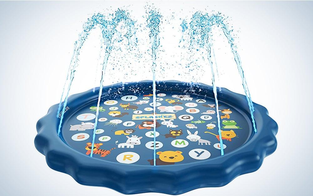 SplashEZ 3-in-1 Splash Pad and Wading Pool