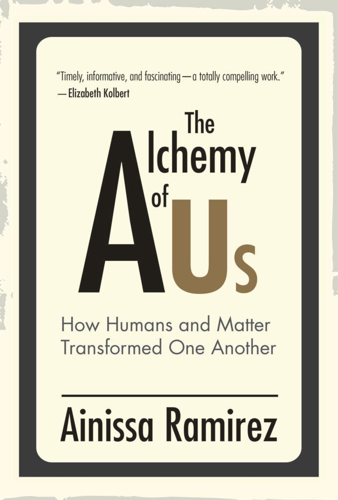 'The Alchemy of Us' book cover