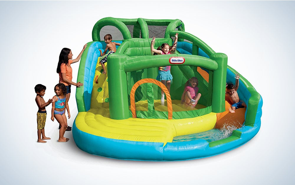 Little Tikes 2-in-1 Wet 'N Dry Inflatable Bouncer
