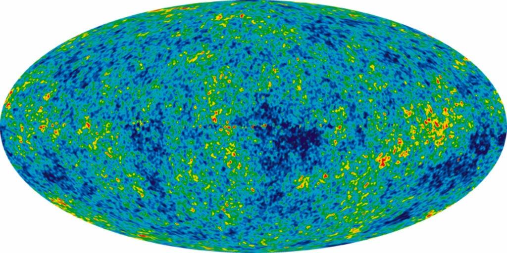 cosmic microwave background radiation