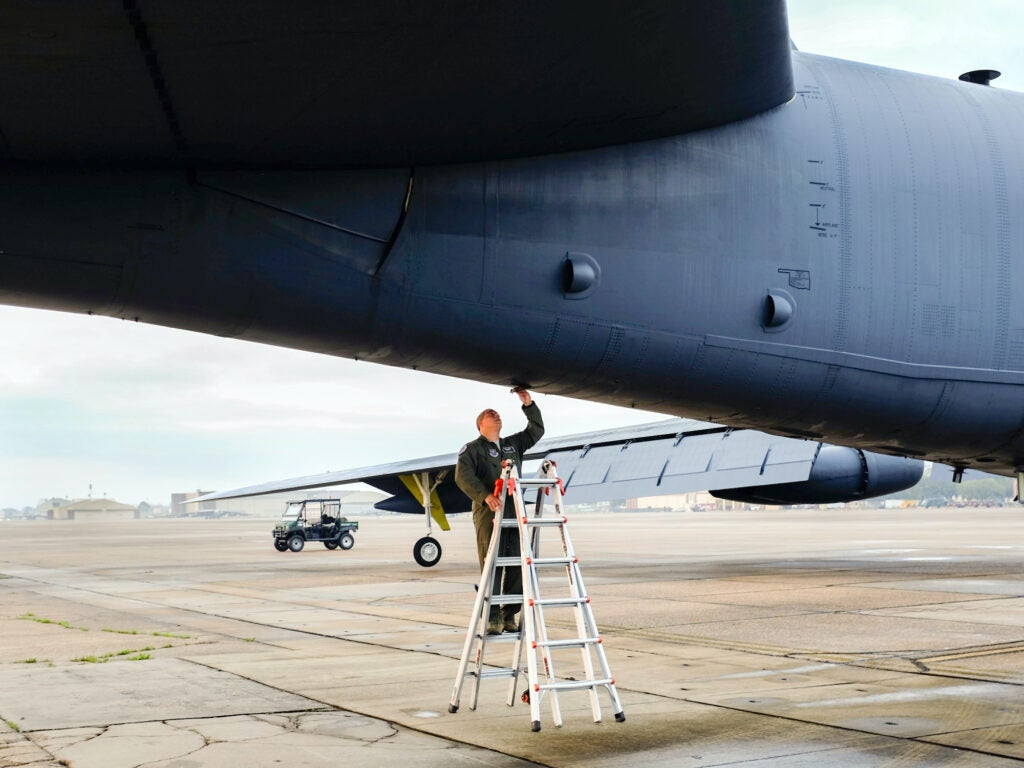Gallery: From hatch to dials, a look around and inside a B-52 bomber