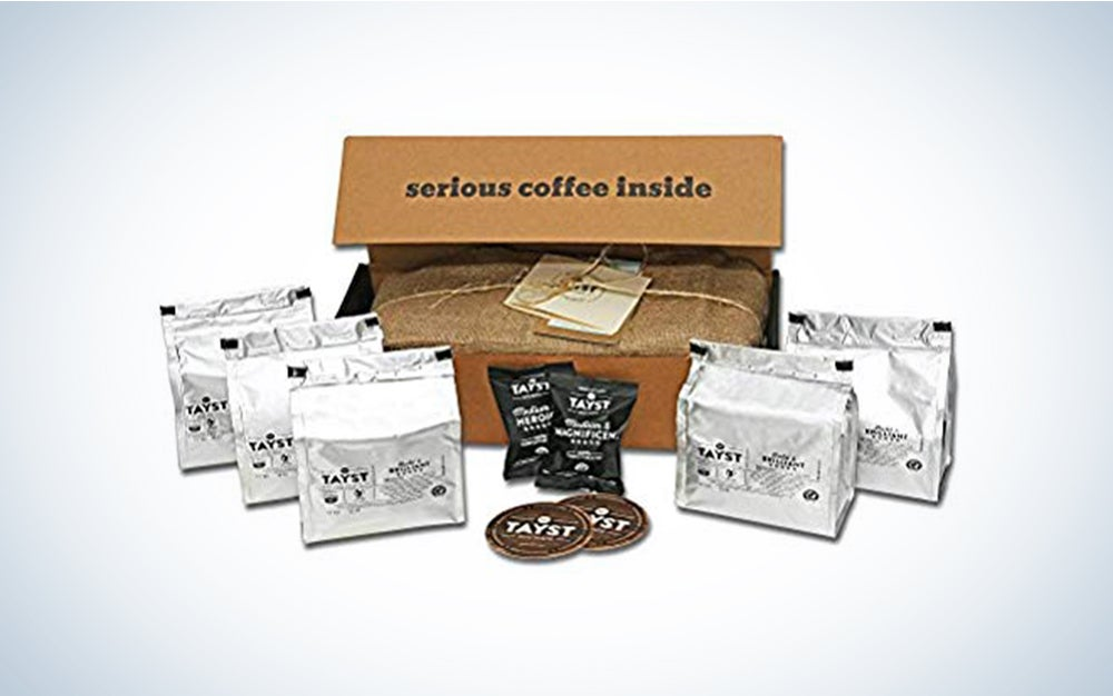 Tayst Decaf Coffee Pods | 30 ct. Defiantly Decaf | 100% Compostable Keurig K-Cup compatible | Gourmet Coffee in Earth Friendly packaging
