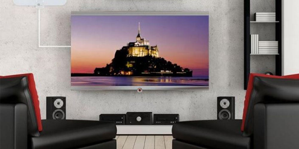 Amplified Flat HDTV Antenna