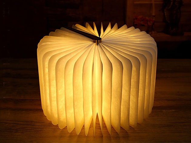 Oakwood Booklet Lamp