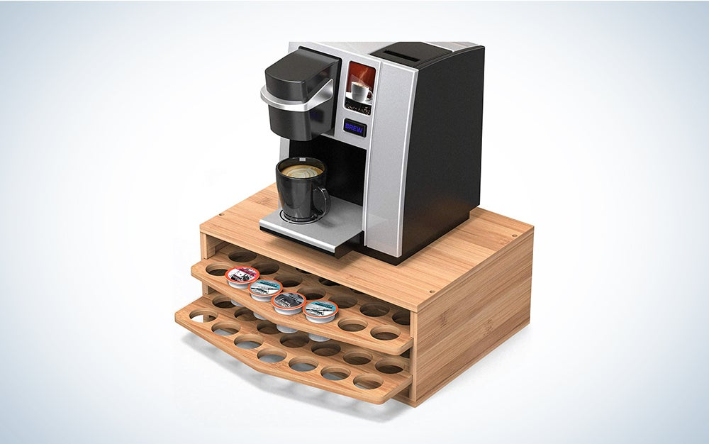 Well Weng Bamboo Coffee Holder