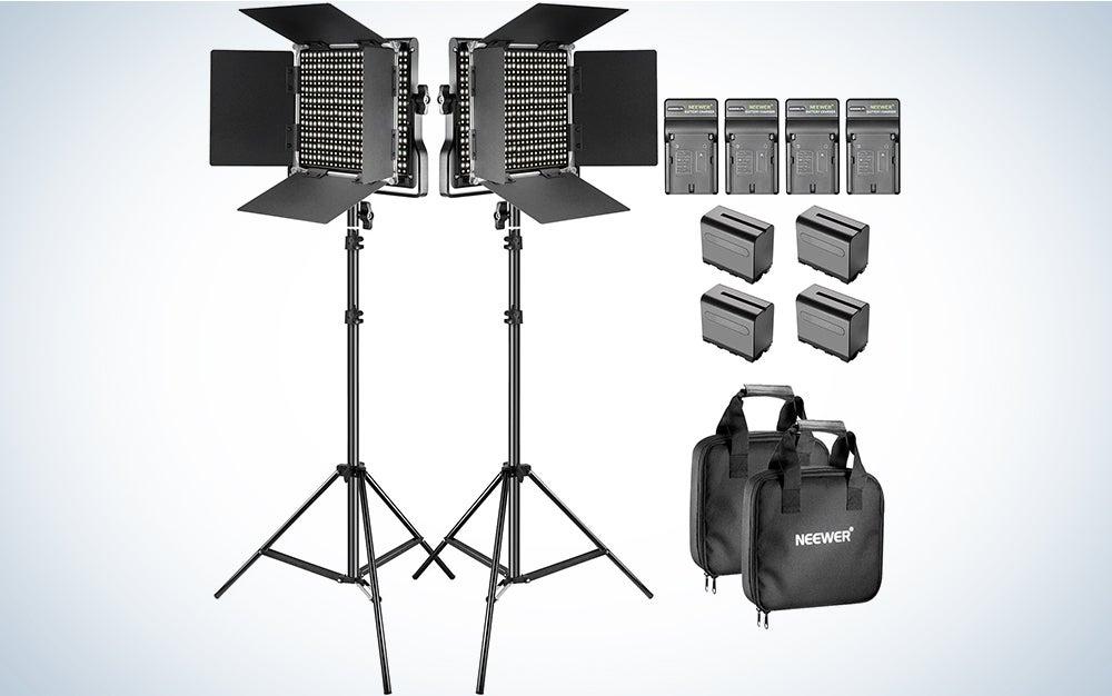 Neewer Bi-Color 660 LED Light Panel Kit