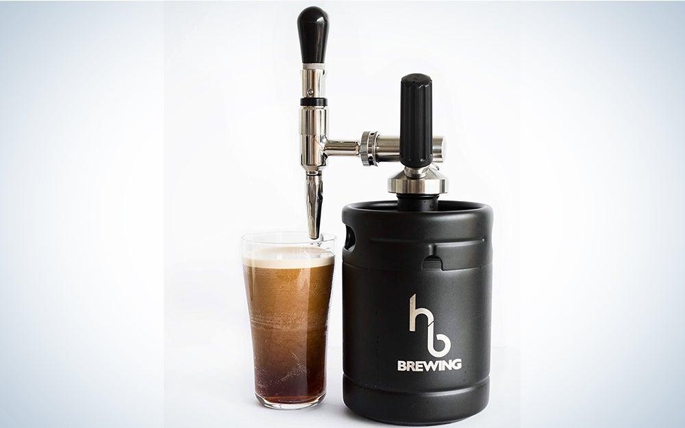 HB Brewing Nitro Cold Brew Coffee Maker Mini-Keg