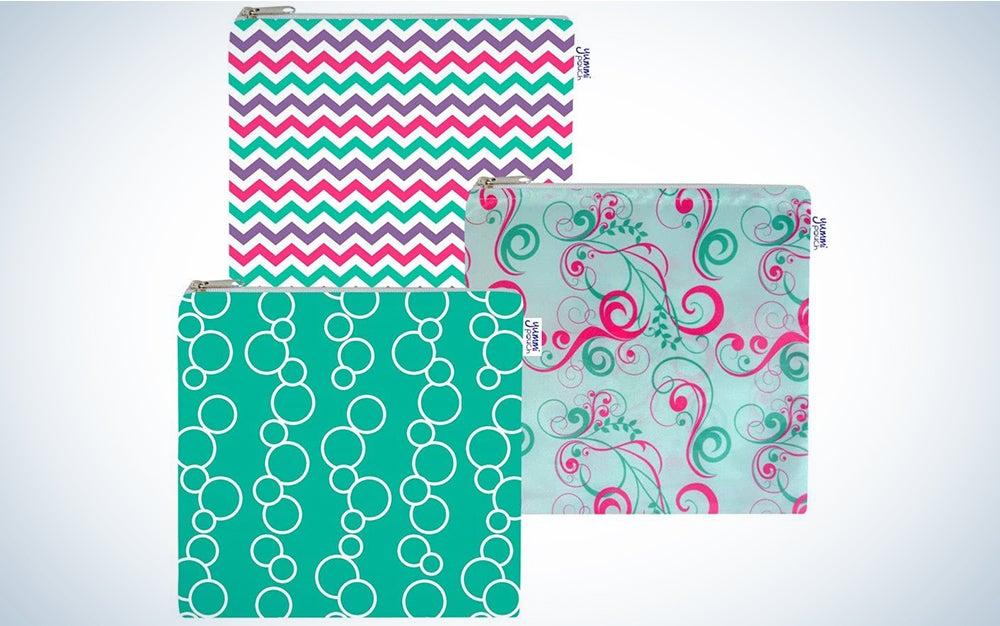 Yummi Pouch Cloth Sandwich Bags - Set of 3