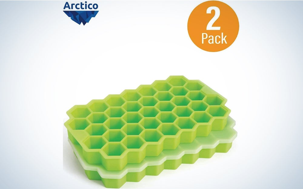 Outset B260 Hex Ice Cube Mold, Silicone, Small