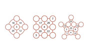Give your brain a workout with these unique number puzzles