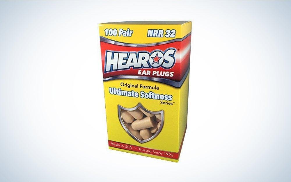HEAROS Ultimate Softness Foam Earplugs