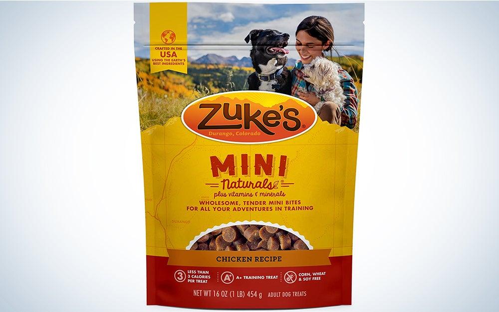 Zuke's Natural Training Dog Treats; Mini Naturals Recipe