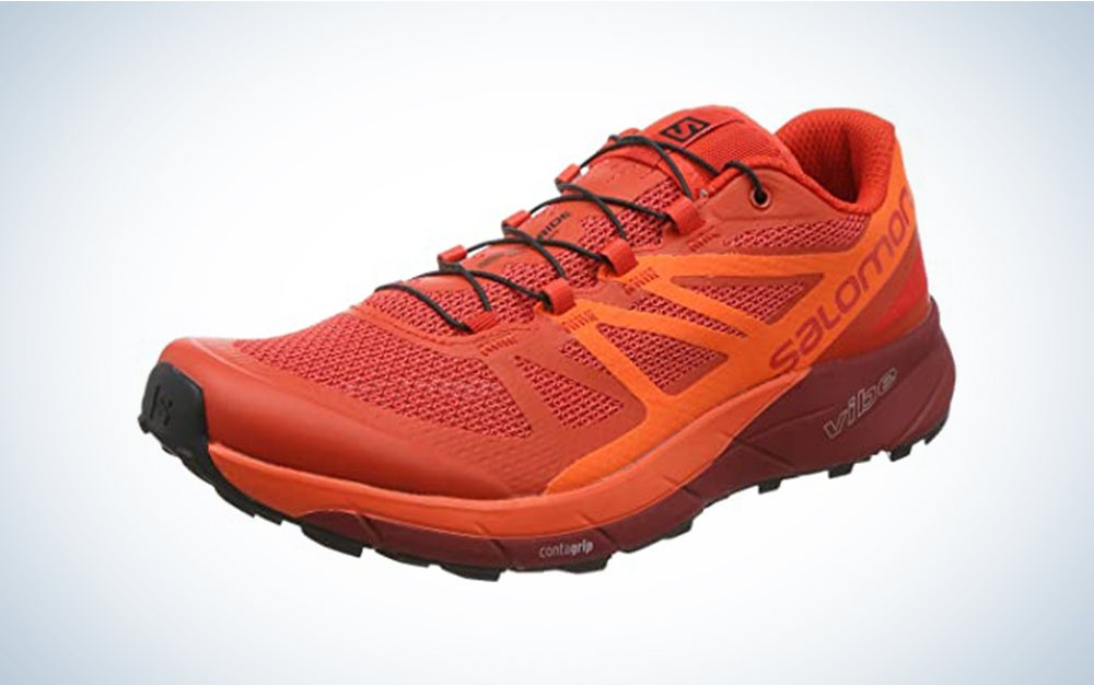 Salomon Men's SENSE RIDE 3, Trail Running Shoe