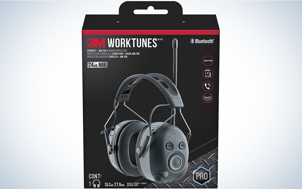 3M WorkTunes Connect + AM/FM Hearing Protection