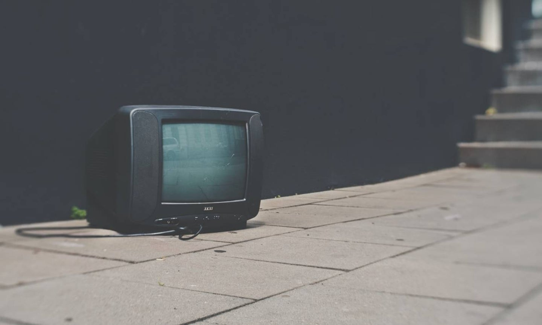 TV in the street