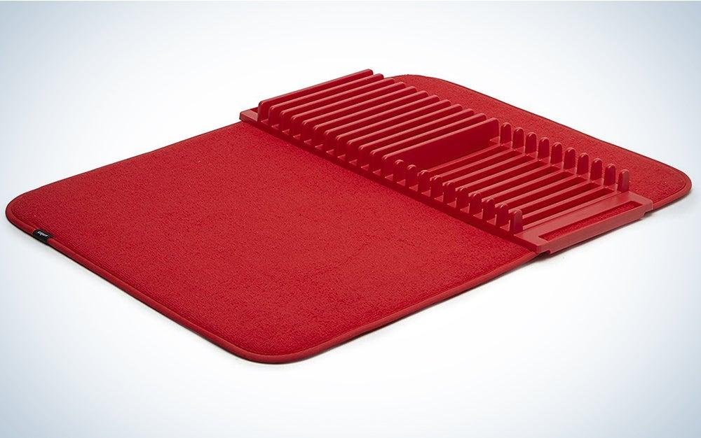Umbra Udry Rack and Microfiber Dish Drying Mat
