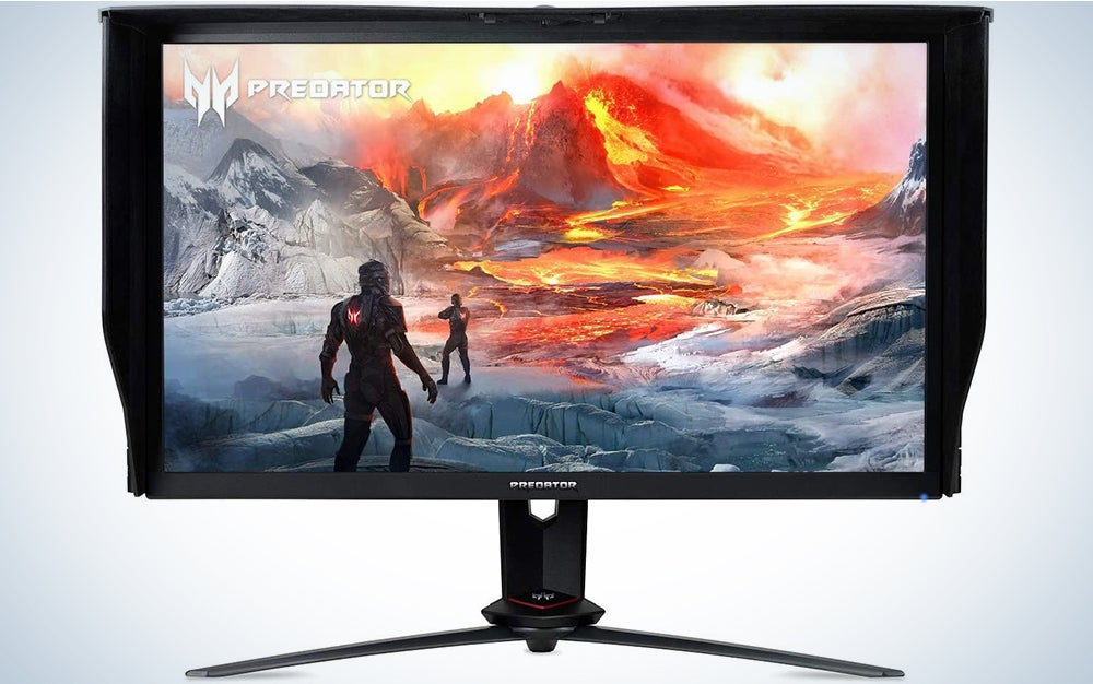 Acer Predator 27″ UHD NVIDIA G-SYNC Compatible Monitor with VESA Certified DisplayHDR 400