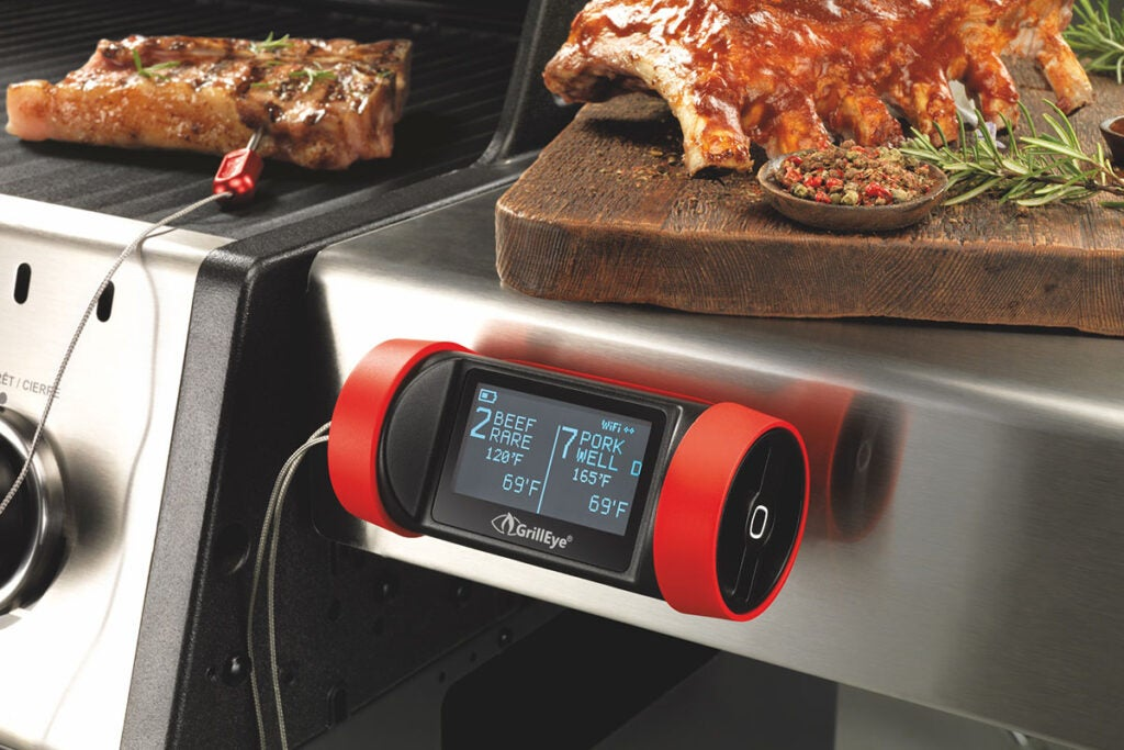GrillEye® Pro Plus: Hybrid Grilling & Smoking Thermometer
