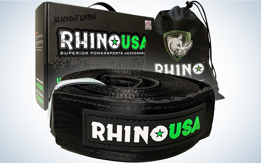 """Rhino USA Recovery Tow Strap 3"""" x 30ft"""