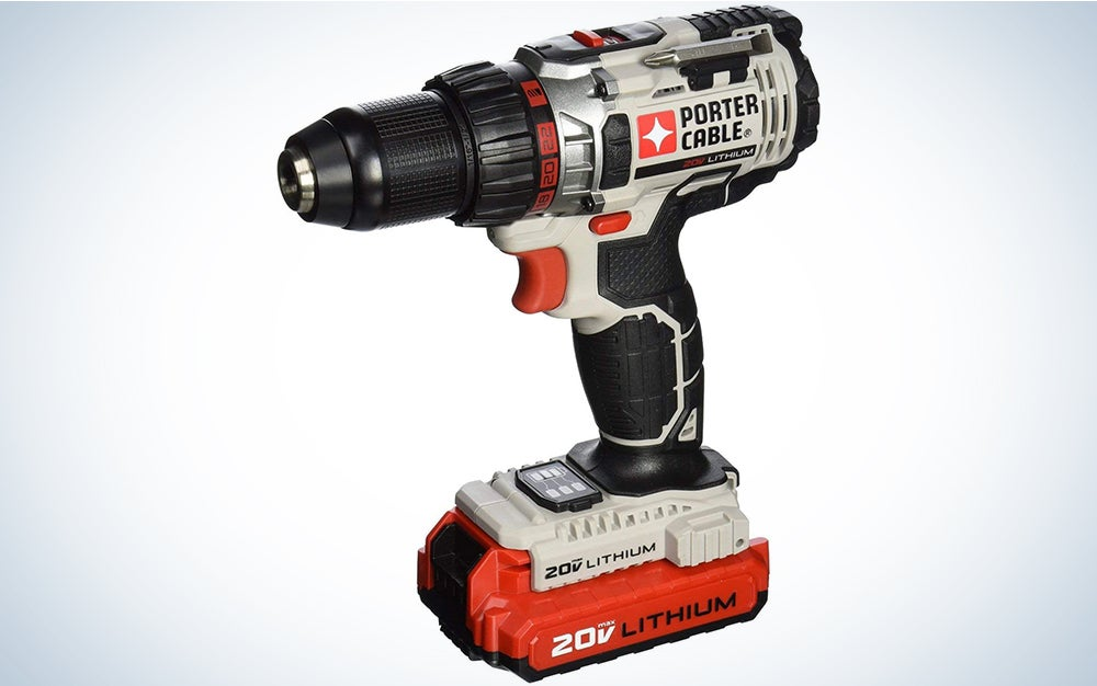 Porter-Cable 20V MAX Cordless Drill / Driver Kit, 1/2-Inch