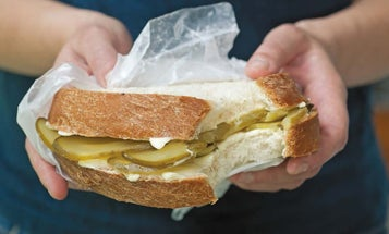 The history and mystery of America's long-lost pickle sandwich