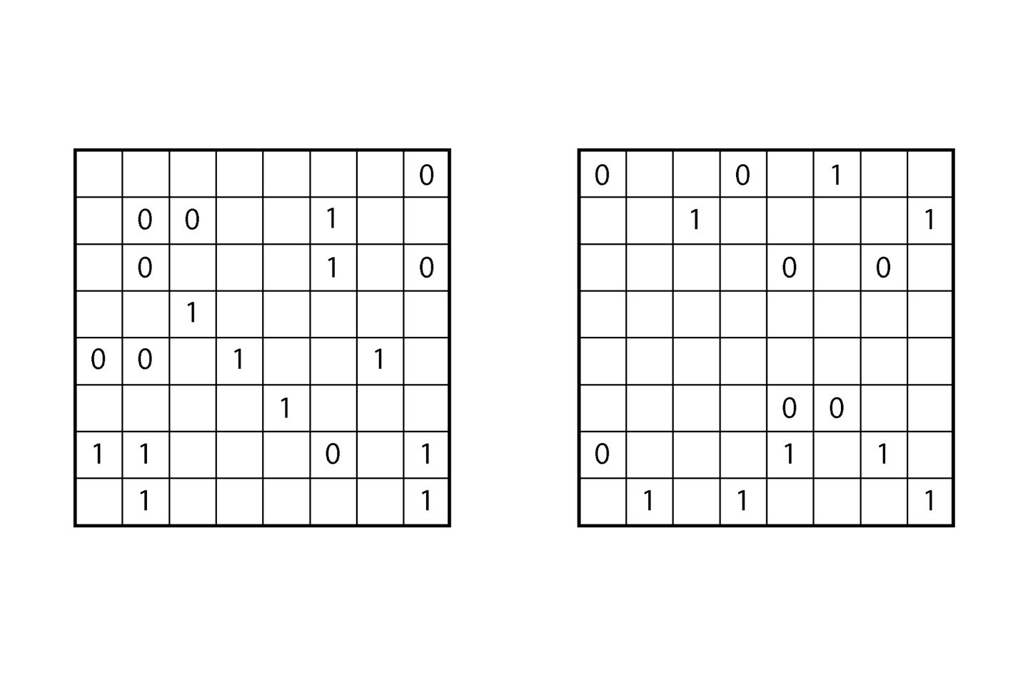 bound by two sudoku puzzle