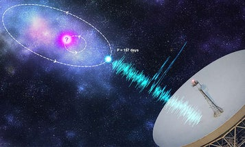 Astronomers spot repeating radio burst patterns from deep space