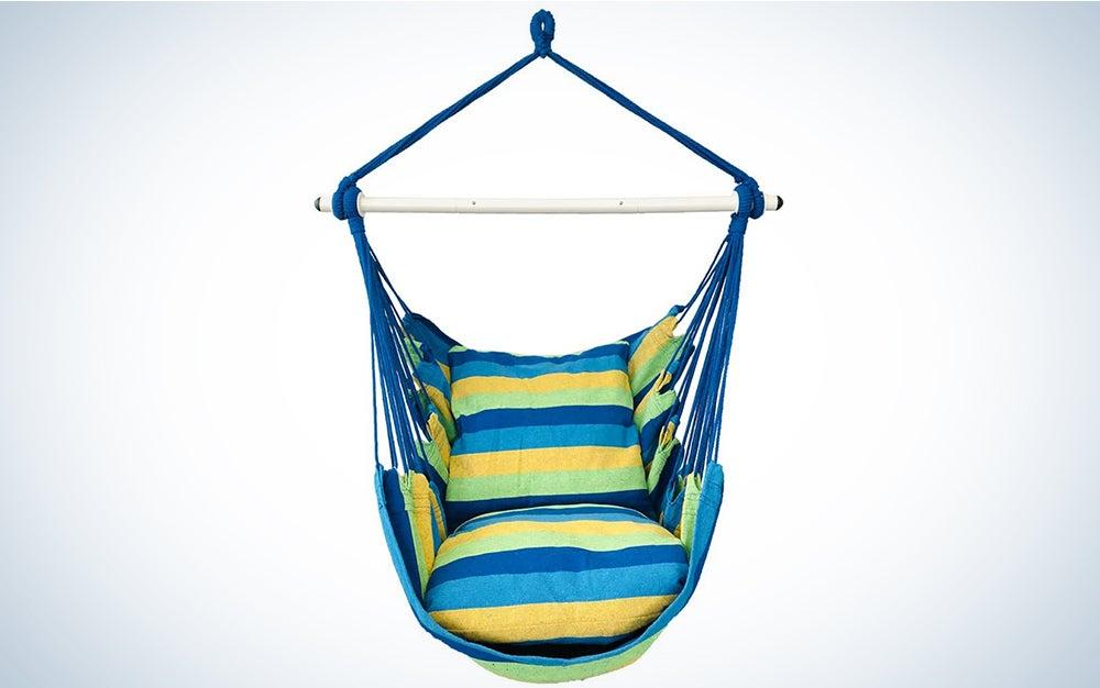 Highwild Hanging Rope Hammock Chair Swing Seat