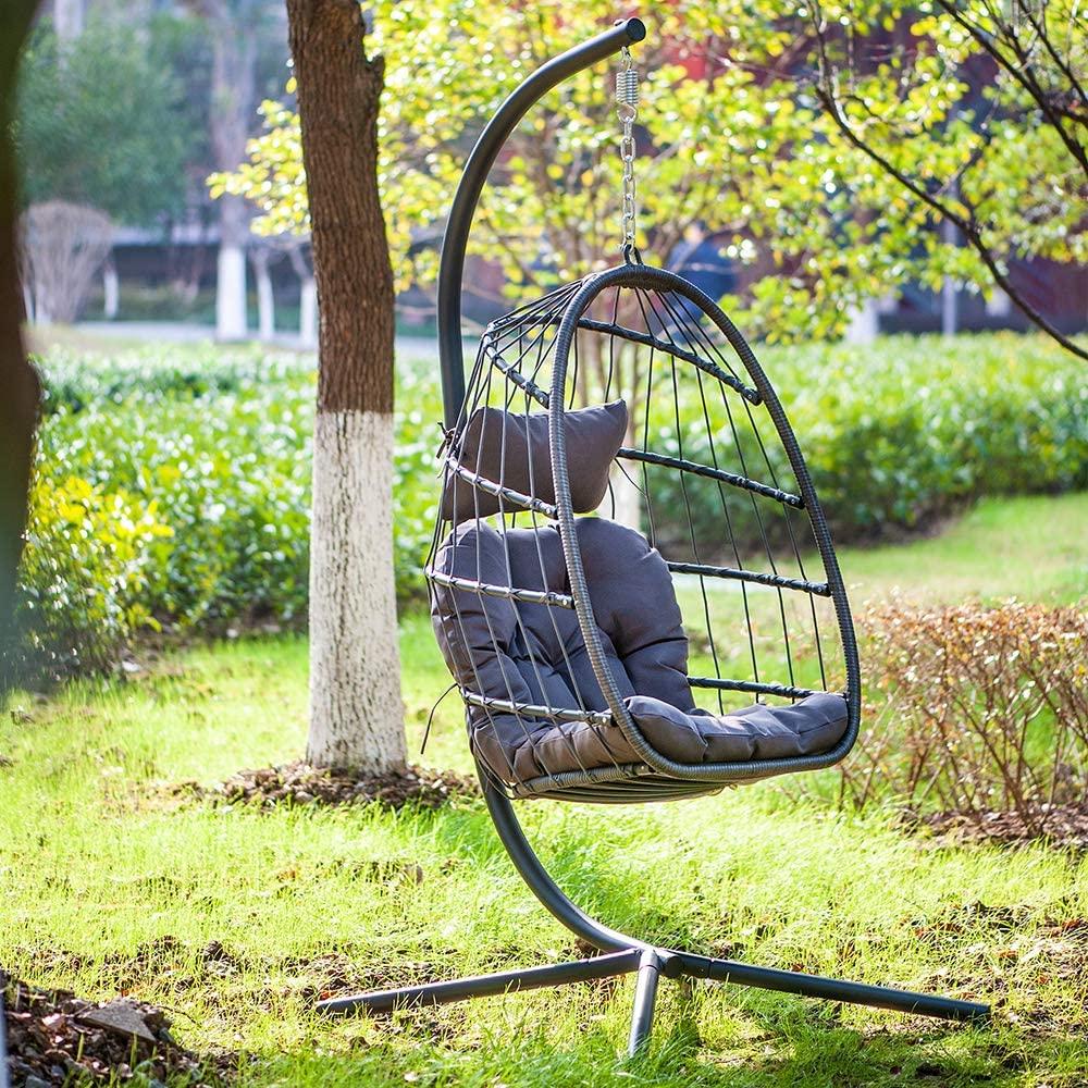 chair in a backyard