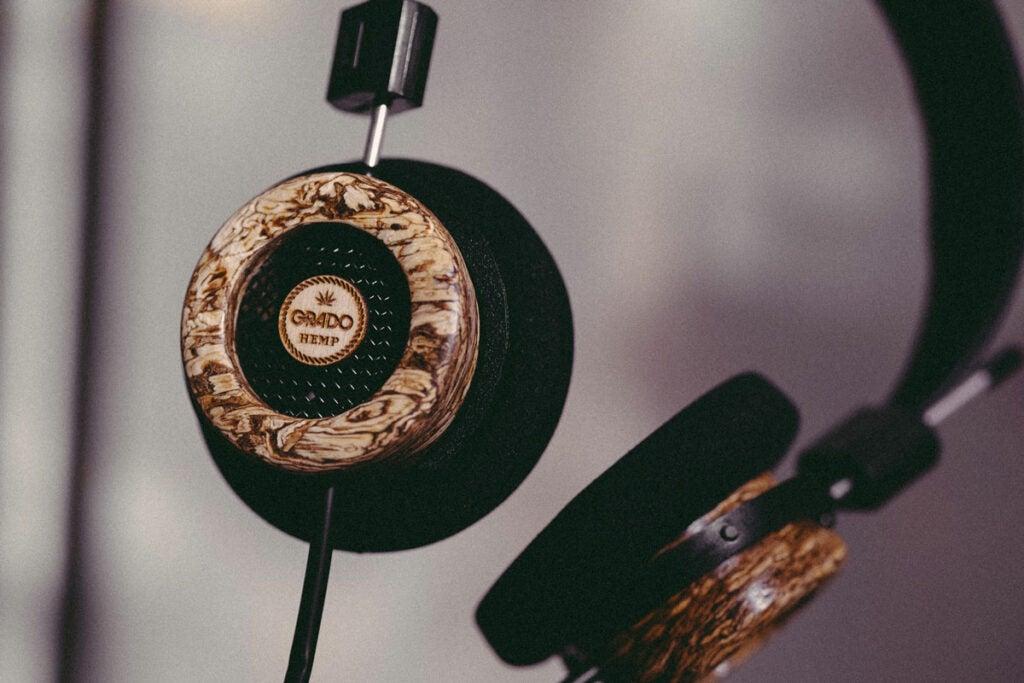 Grado hemp headphones