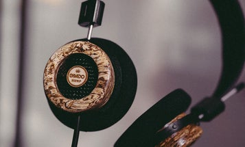 Hemp and maple work together to power these high-end headphones