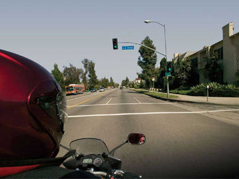 Make a plan of action for intersections and other commonly encountered ride situations.