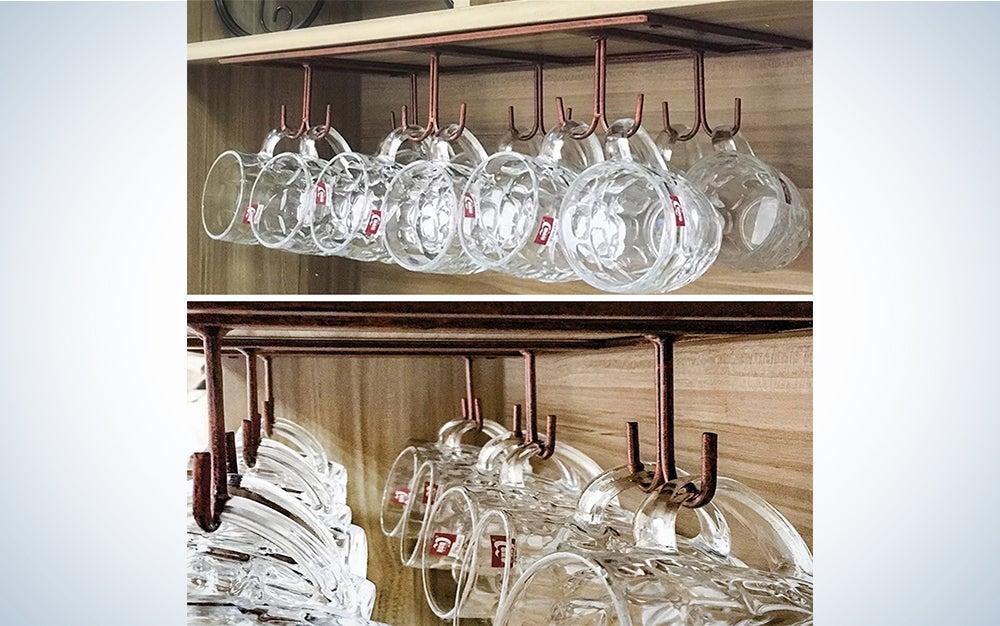 Furvokia Retro Home Storage Mug Rack