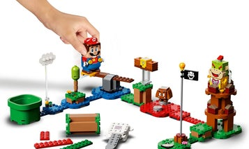 This new Lego set brings classic Super Mario games into the real world
