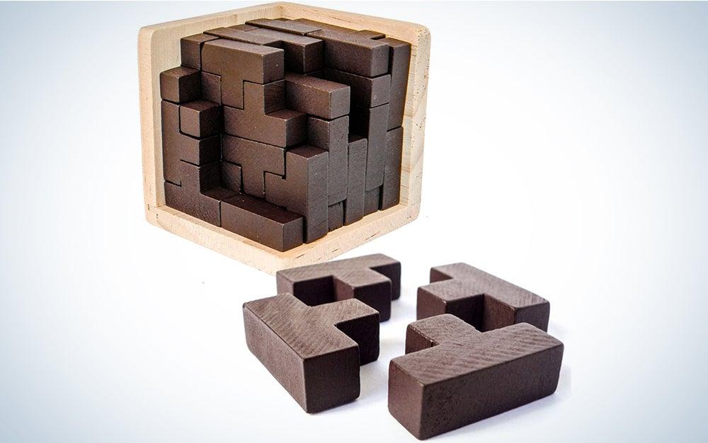 Sharp Brain Zone 3D Wooden Puzzle