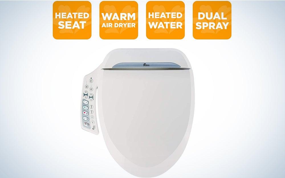 BioBidet BB600 Ultimate Advanced Bidet Toilet Seat, White, Elongated
