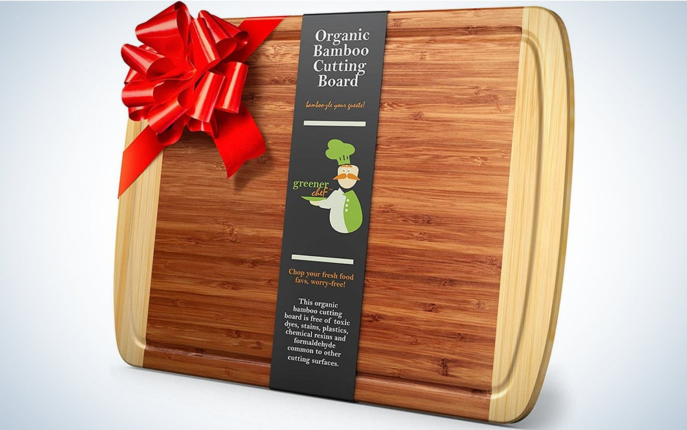 Greener Chef Extra Large Bamboo Cutting Board - 18 x 12.5 Inch