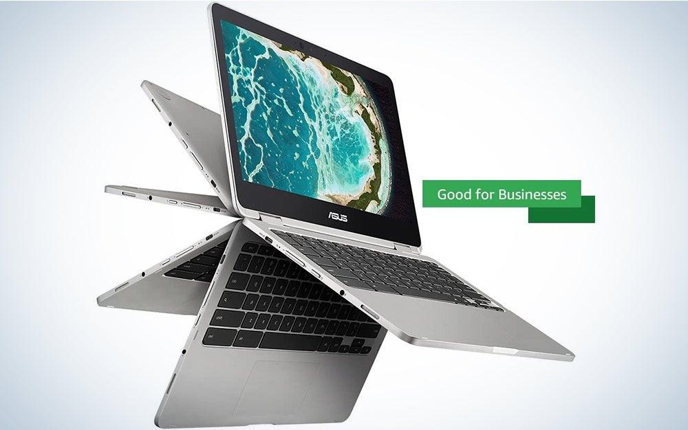ASUS Chromebook Flip C434 2-In-1 Laptop, 14