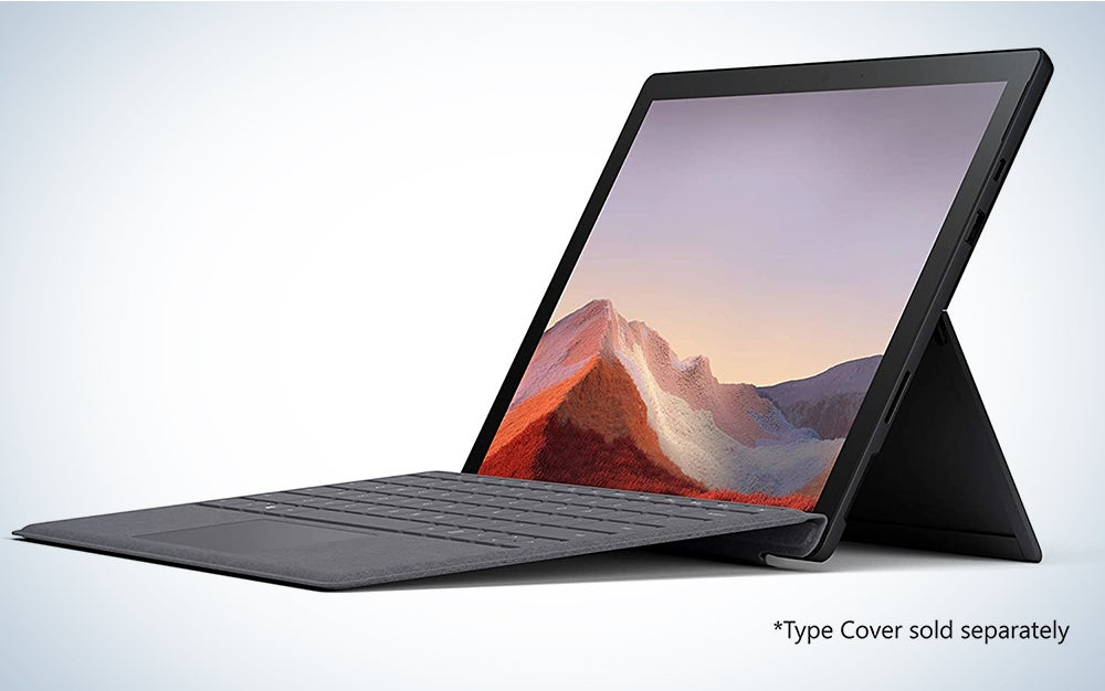 "Microsoft Surface Pro 7 – 12.3"" Touch-Screen - Intel Core i7 - 16GB Memory - 256GB SSD"