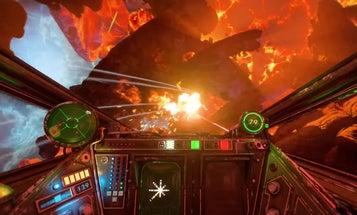 The Star Wars: Squadrons gameplay trailer  promises cross-platform starfighter battles